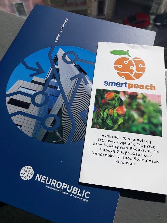 Το φυλλάδιο του έργου Smartpeach